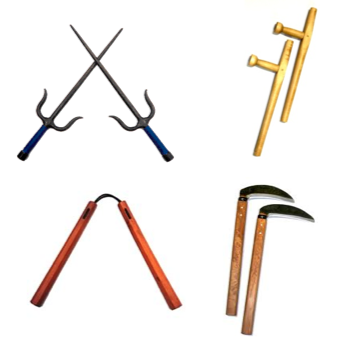 Windsor Karate - Kobujutsu Weapons